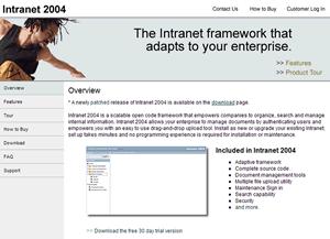 intranet2004website